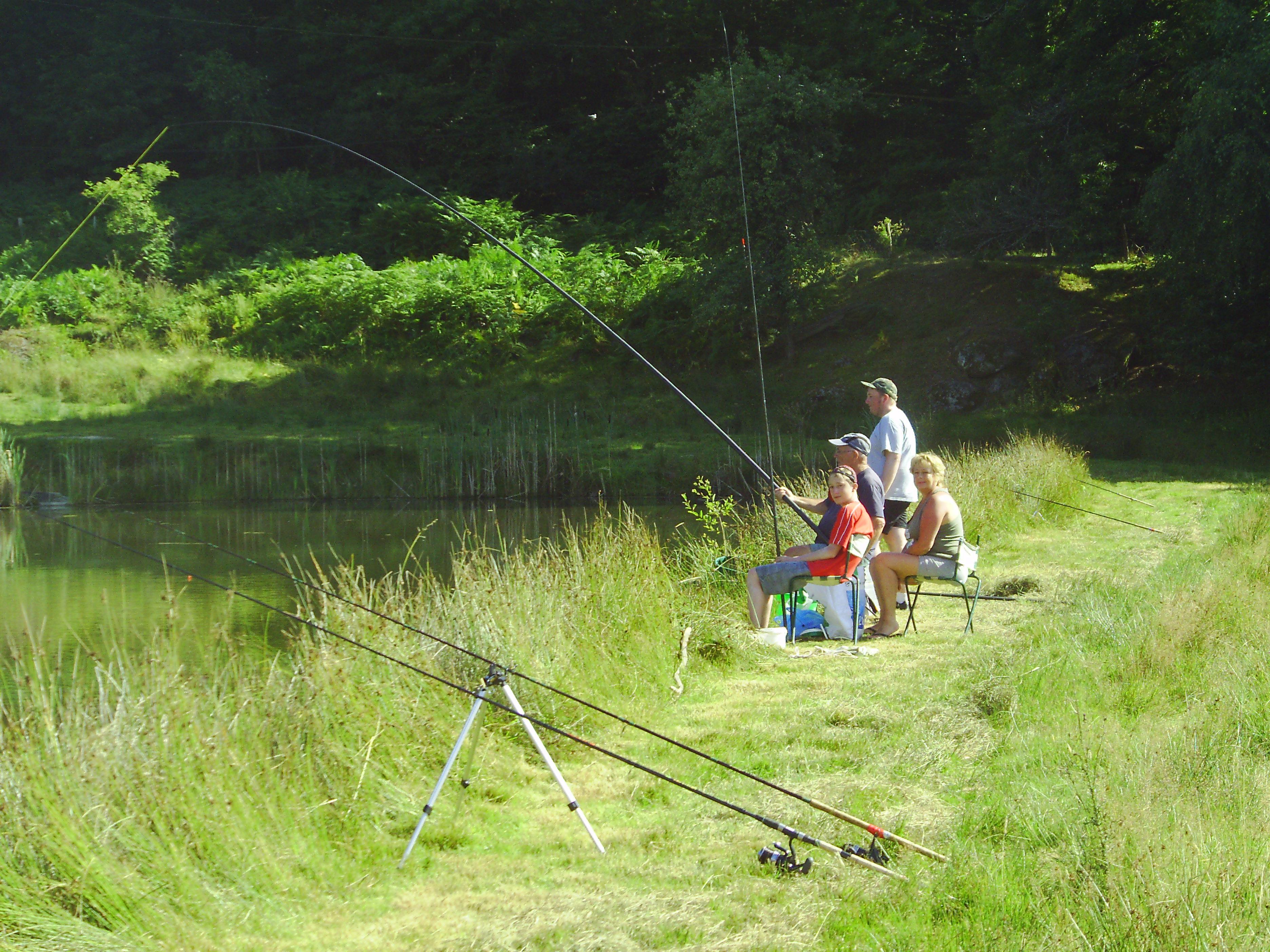 Le louage des bateaux pour la pêche des queues